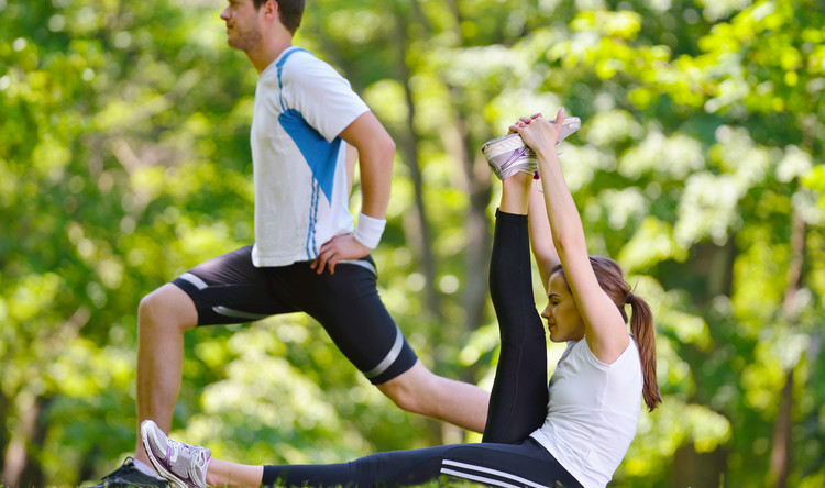 El entrenamiento en pareja
