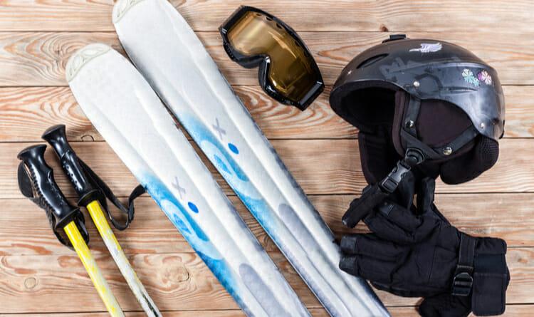 Equipo para esquiar