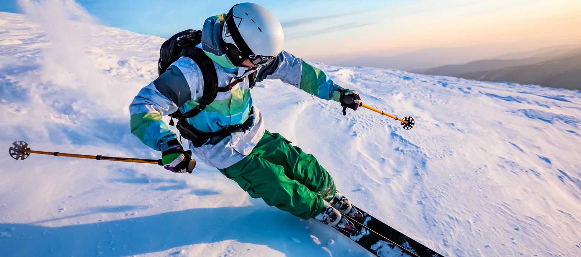 beneficios de esquiar
