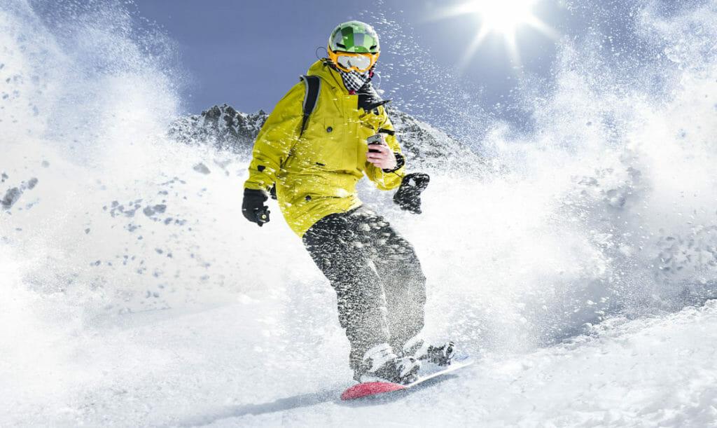 lista de beneficios de esquiar e