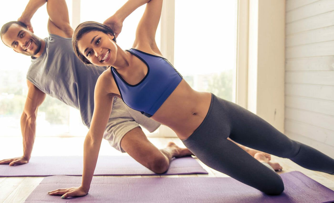 ejercicios en pareja practicar en casa