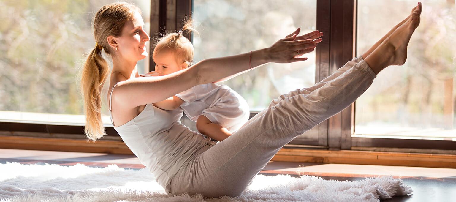 lactancia y el ejercicio para las mamás