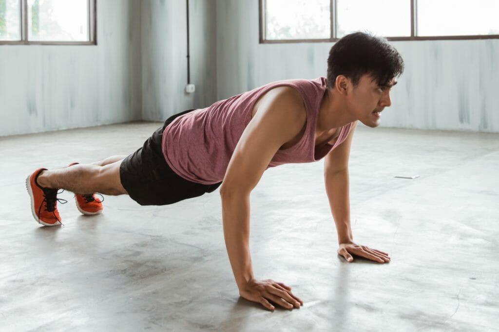 ejercicio lagartijas para aumentar la fuerza