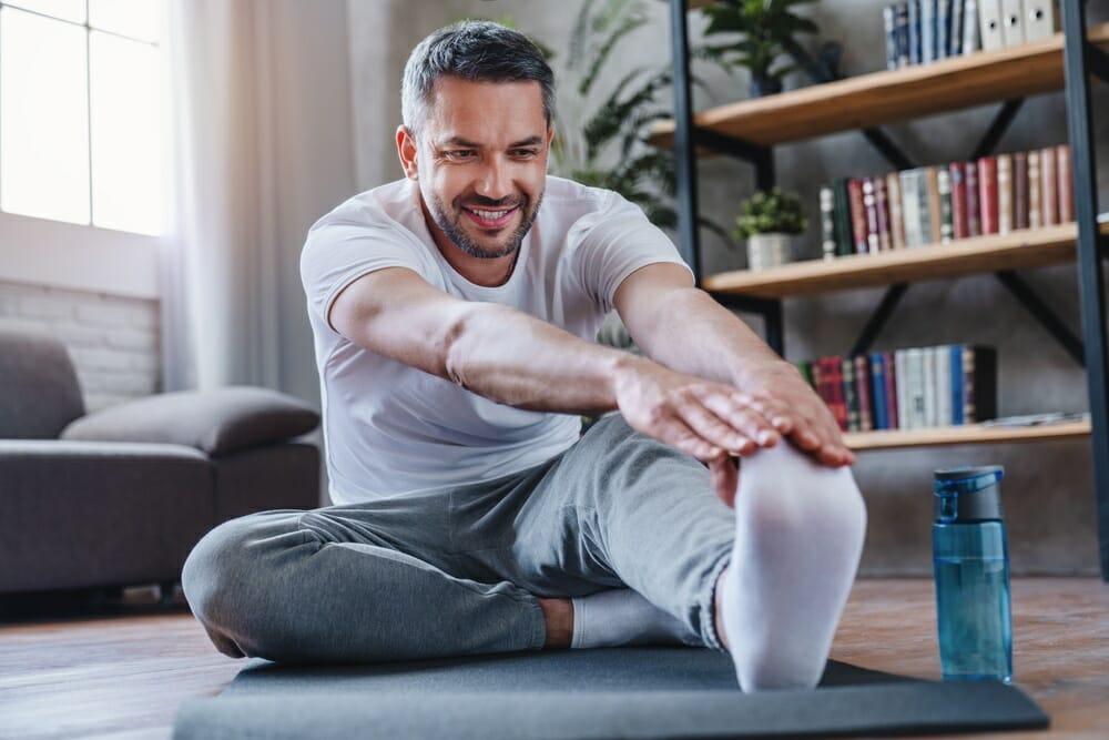ejercicios de yoga estiramiento